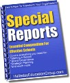 Special Reports - Ideas and Tips For Private Schools and Non-Profits